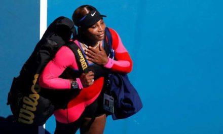 Serena Williams éliminé en demi final de l'Open d'Australie