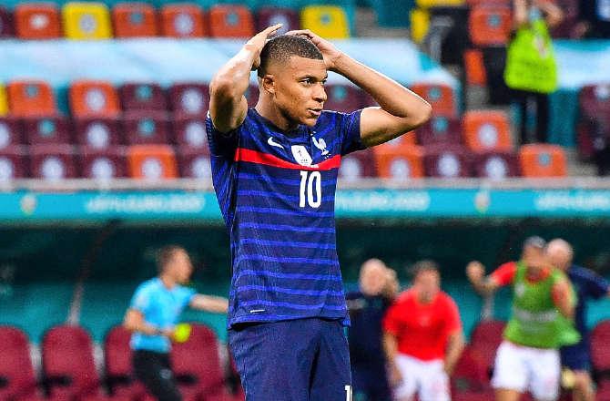 Euro 2020 : Défaite des Bleus – M'bappé désolé