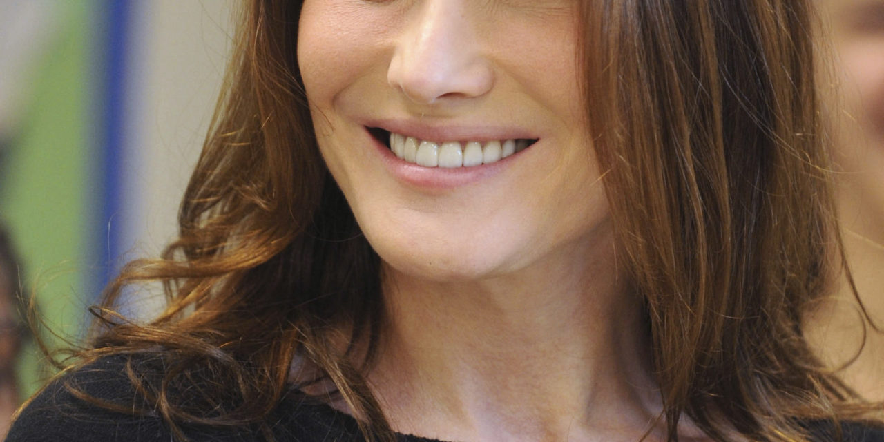 Carla Bruni-Sarkozy l'une des fan de Vitaa
