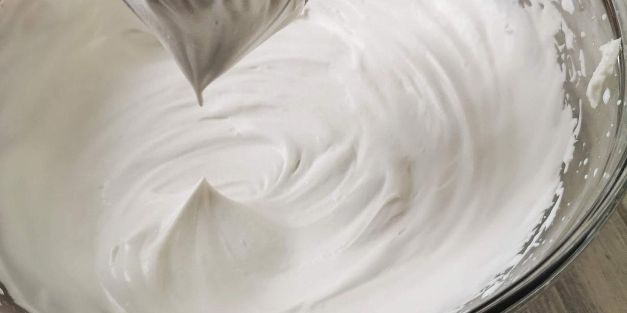 Crème fouetté fait maison