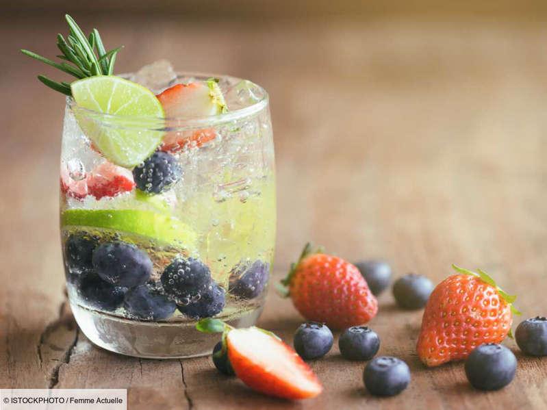Recette d'eau aromatisée