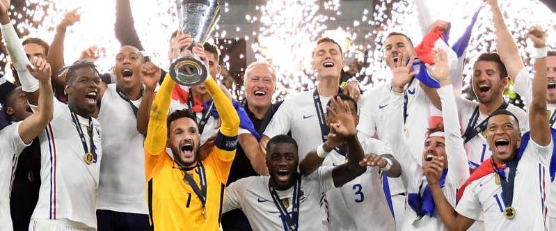 Les Bleus classés troisième par la FIFA