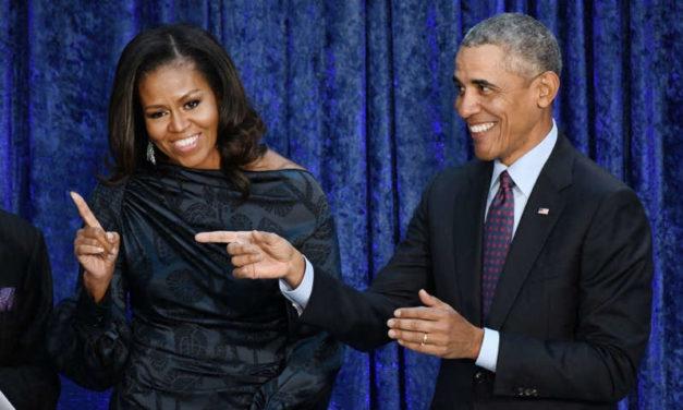 Michelle et Barack Obama amoueux comme au 1er jour