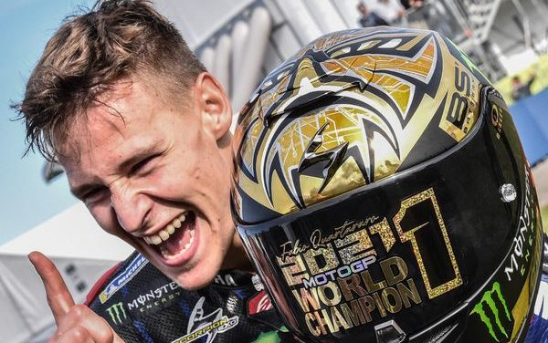 Fabio Quartararo premier Français sacré champion du monde de MotoGP